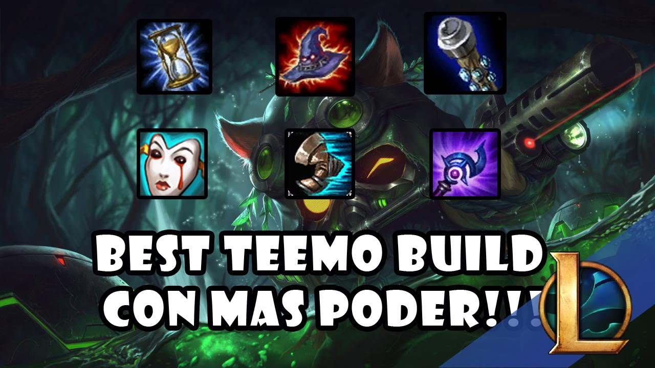 Teemo Top Build