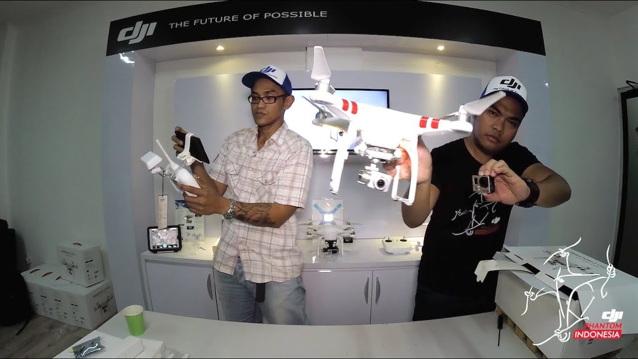 "DJI Phantom Indonesia ""Unboxing Dji Phantom 2 Vision+"" at DJI HQ ..."