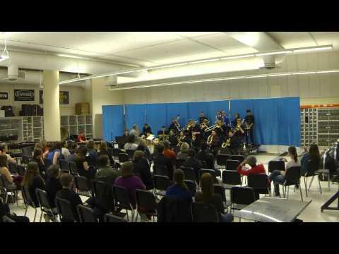 2014 University of Cincinnati Bearcat Bands Late Jazz Band