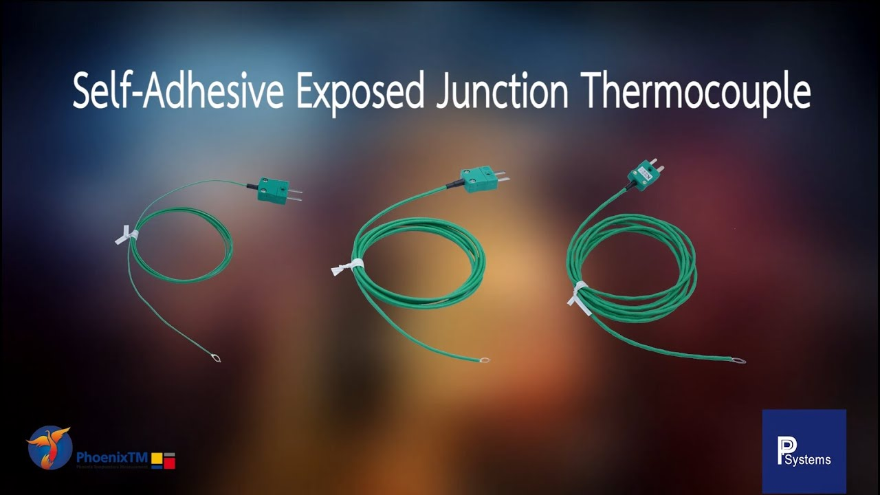 PhoenixTM 「TC54, TC55, TC80」 Self Adhesive Exposed Junction Thermocouple l PP Systems