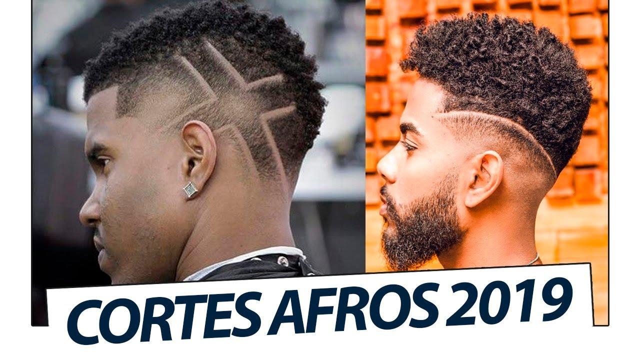 Cortes De Cabelo Masculino Crespo Pra 2019 Tendências Em Cortes Afros