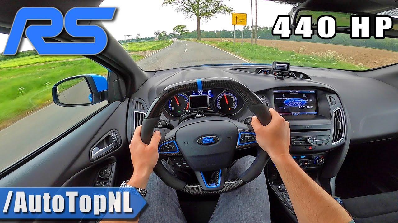 FORD FOCUS RS MK3 440HP MILLTEK POV Test Drive by AutoTopNL
