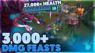 WTF DID I JUST BUY | I SHOW YOU MY BEST MAGIC TRICK | FULL HP CHO'GATH SUPPORT - BunnyFuFuu