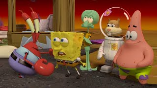 SpongeBob SquarePants Movie / All Cutscenes of Plankton's Robotic Revenge Game in English HD 1080p