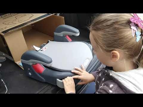 Обзор Бустер Graco Booster Opal Sky из Розетки