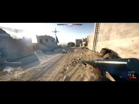 Battlefield 1 Conquest Multiplayer - Suez map