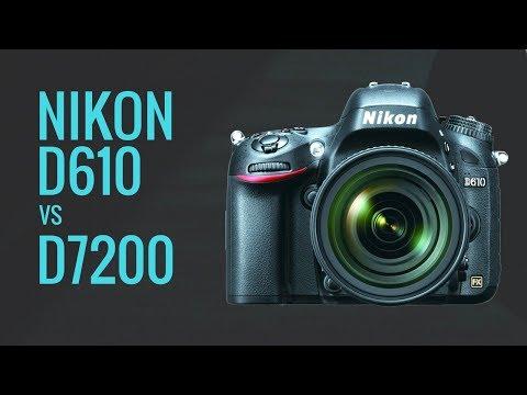 Nikon D610 vs Nikon D7200 - Seasoned FILM Photographer Wants to Buy 1st DSLR