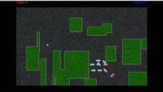 Cops N Robbers Game demo showing path finding and object avoidance