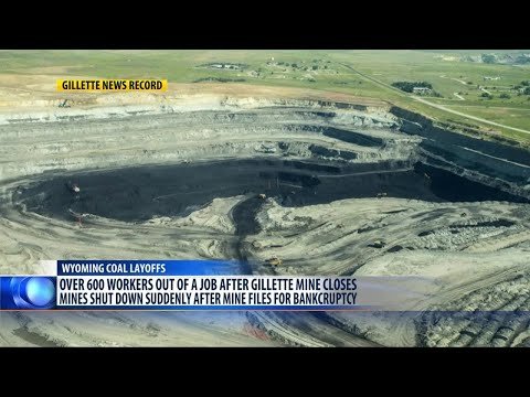2 Major Wyoming Coal Mines Close