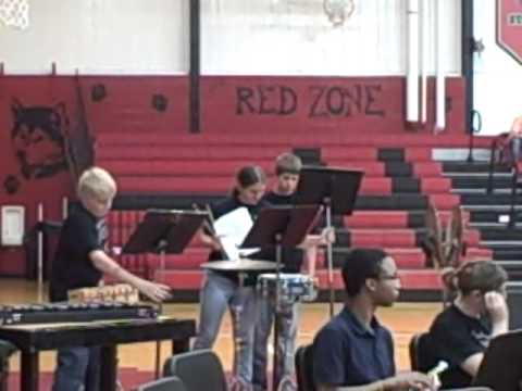 Highland Middle School Band 2012