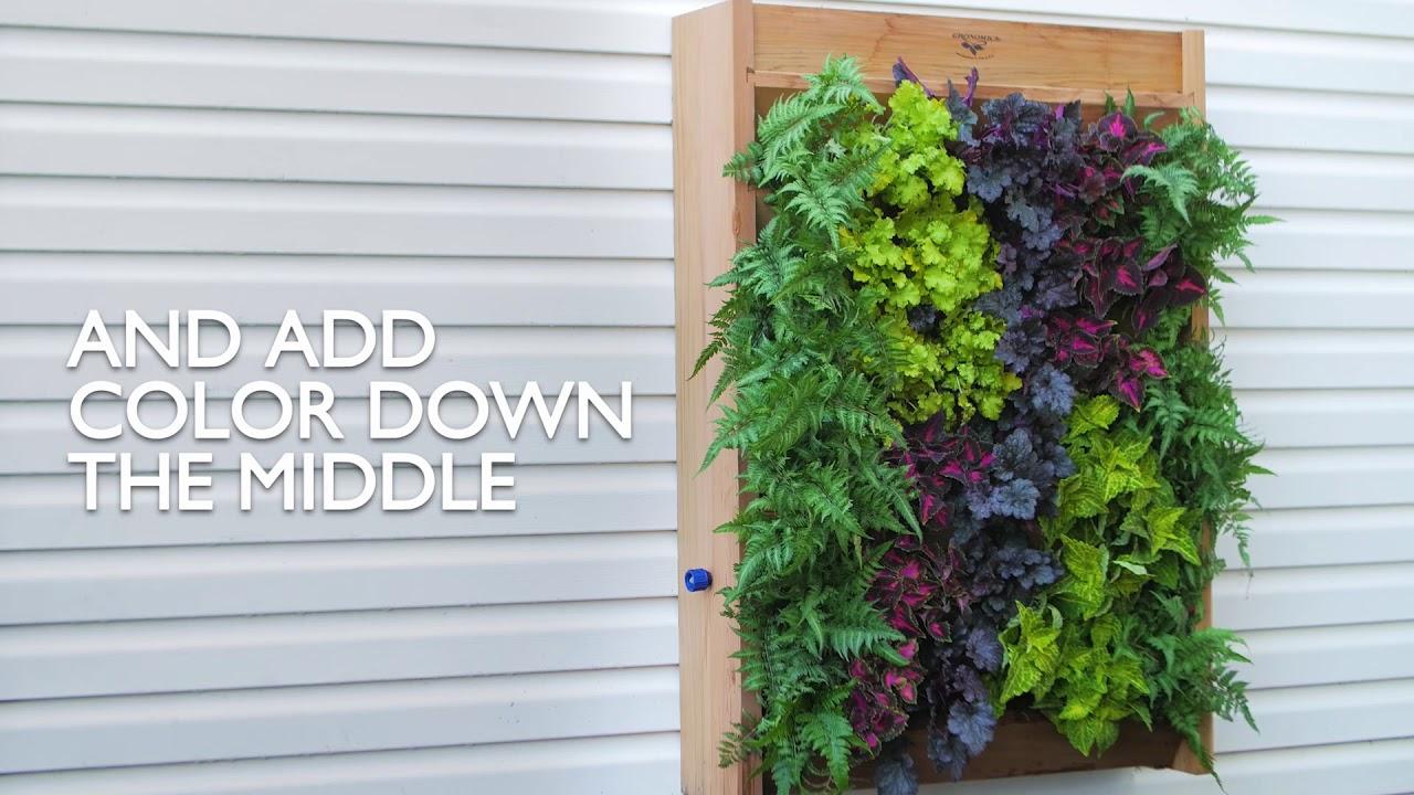 how to do a vertical garden
