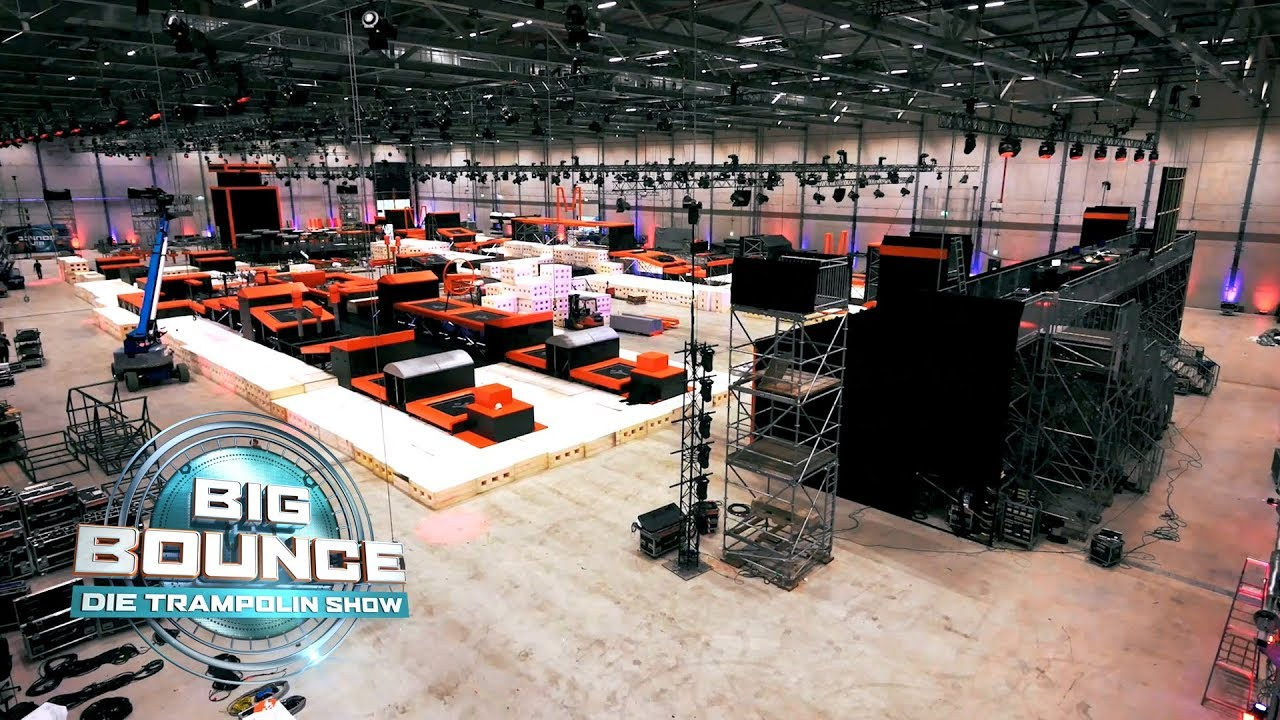 Big Bounce - Die Trampolin Show | Making-of