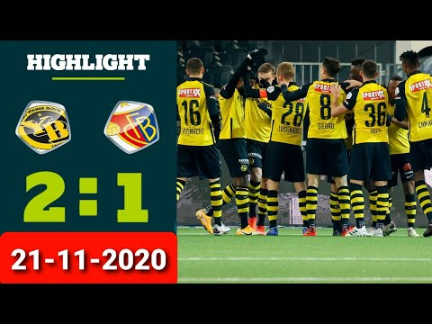 Young Boys Basel Goals And Highlights
