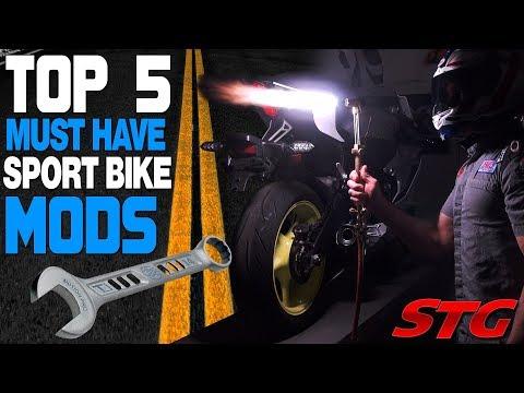 Best Sportbike Mods – The Top 5 from Sportbiketrackgear.com