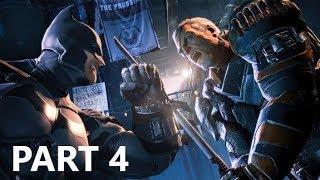Batman - Arkham Origins - Gameplay 04 - Deathstroke Boss Fight