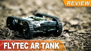 RC COMBAT TANK with FPV and AR ( Flytec 18203 ) make home battle AMAZING TOY