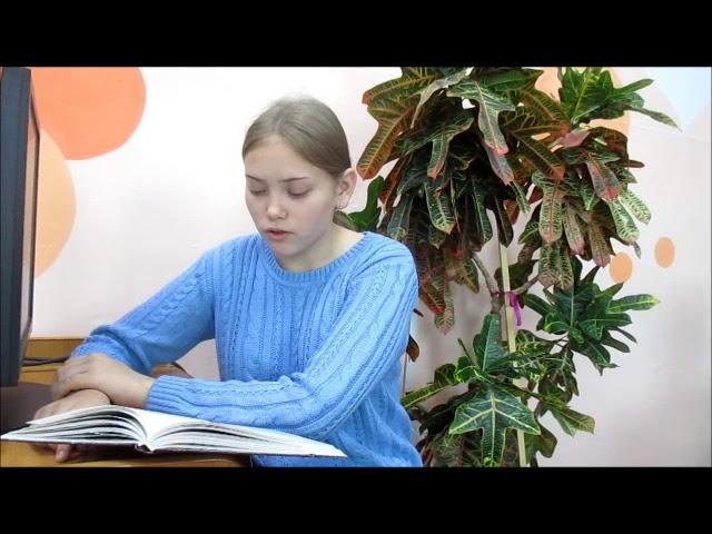 Изображение предпросмотра прочтения – ПолинаСубботина читает произведение «Отговорила роща золотая» С.А.Есенина