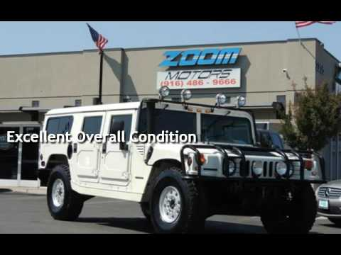 1995 hummer h1 diesel truck for sale in sacramento ca for Zoom motors sacramento ca