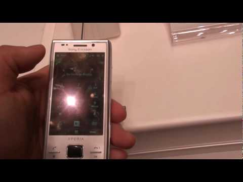 Sony Ericsson Xperia X2 at CES