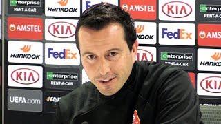 Julien Stephan & Benjamin Andre Full Pre-Match Press Conference - Arsenal v Rennes - Europa League