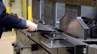 Mecon Industries Ltd. 3 station Press Brake with Custom Jig