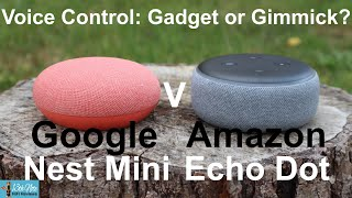 Voice Control: Gadget or Gimmick? Amazon Echo Dot V Google Nest Mini