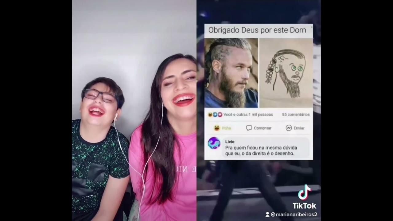 Reagindo a Vídeos do TikTok - Desafio Abaixe o Dedo!