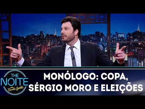 Monólogo: Copa, Sérgio Moro e eleições | The Noite (19/03/18)