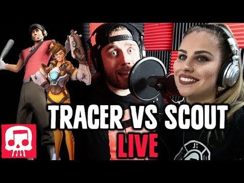 Tracer Vs Scout Rap LIVE JT Music (feat. Andrea Storm Kaden)