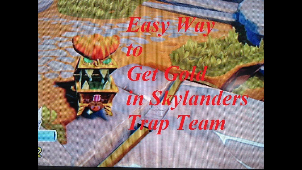skylanders trap team easy way to get money with chomp