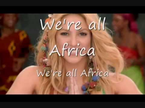 Shakira   Waka Waka + lyrics