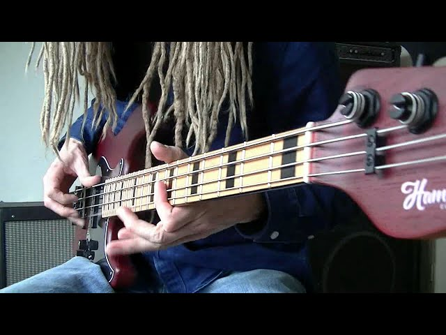 Funk Rock Bass Thumb/Finger Plucking Grooves