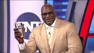 Shaq Threatens To Knock Charles Barkley Out On Inside The NBA Video