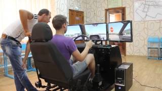 Тренажер вождения для автошколы