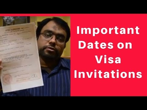 How to understand important dates on Russian visa invitation | Duration of Russian Visa