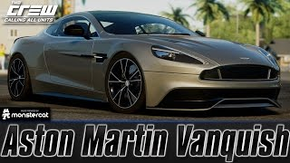 The Crew (PC): Aston Martin Vanquish (Perf Spec) [Customization + Test Drive]