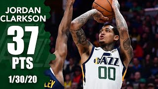 Jordan Clarkson goes off for 24 points in 4th quarter in Jazz vs. Nuggets | 2019-20 NBA Highlights