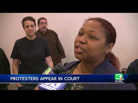 2 Black Lives Matter protesters appear in court