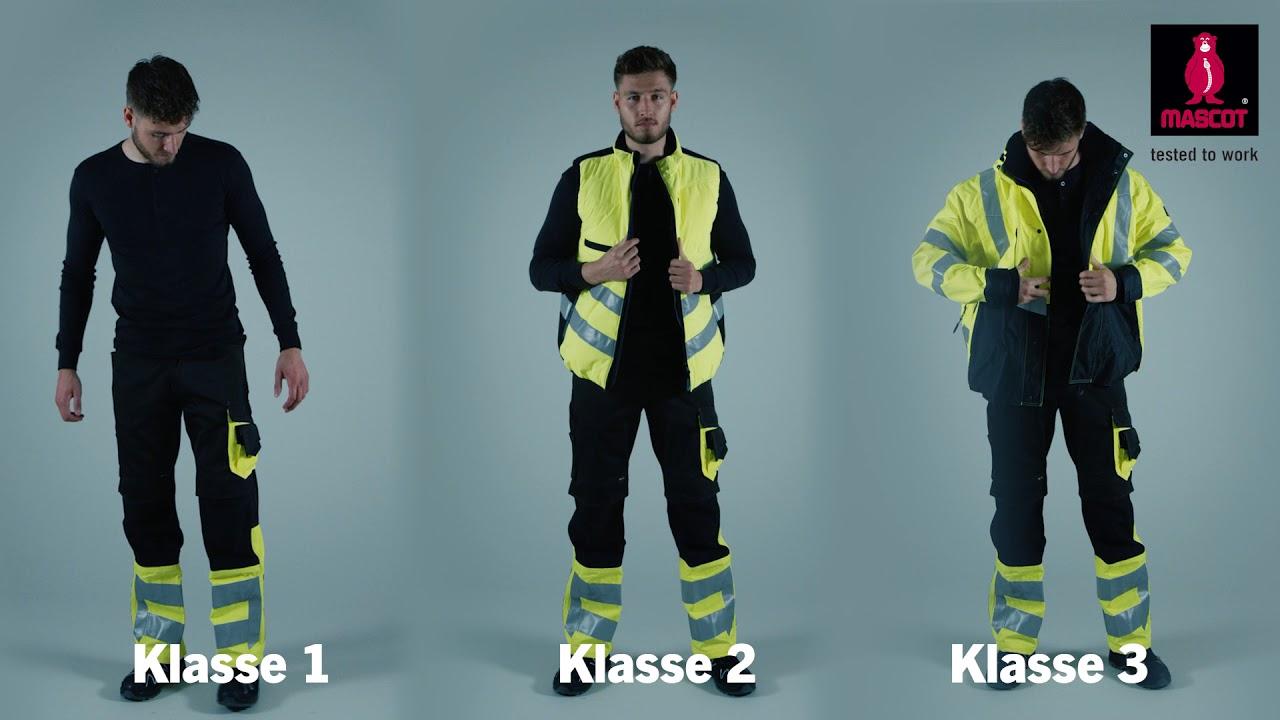 Mascot Workwear Præsenterer En Iso 20471 Hi Vis Arbejdstøj Dk
