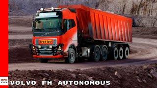 Volvo FH Autonomous Self Driving Mining Truck