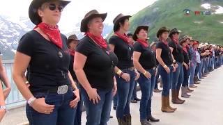 Wenn wir vom höchstgelegenen country- und western line dance sprechen, so ist das alp festival in zell am see-kaprun gemeint. auf der staumauer moserboden ga...