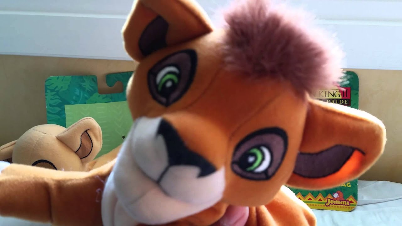 Doll Toys R Us The Lion King 2 Simbas Pride Kiara Kovu Plushies Youtube