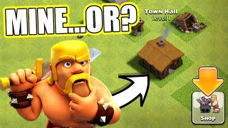 IS THIS REALLY MY BASE IN CLASH OF CLANS!?