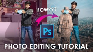 Statue of Unity | Photo Editing Tutorial | Adobe Photoshop | Inside Motion Pictures  | 2020