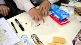 Япония, июнь 2015 г. Демонстрация очищающих салфеток для зубов собак и кошек(Японская компания Таурус: передовые технологии и натуральные природные компоненты - лучшее для здоровой..., 2015-09-13T08:46:41.000Z)