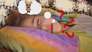Спящая Олеся! Что будет делать когда проснется!? мультики. наряды для девочек.