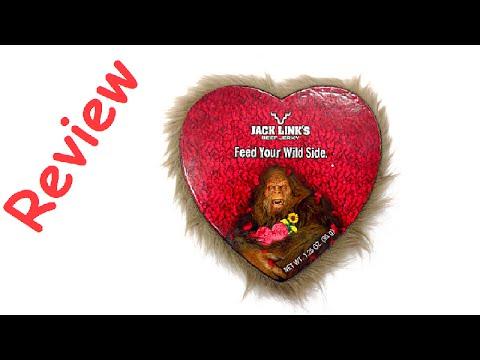 Schön Valentineu0027s Day Jerky Jack Linku0027s Heart Review   RudyEats