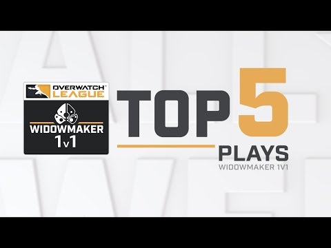 Overwatch League Top 5 Plays – Widowmaker 1 vs. 1 thumbnail