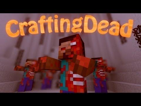 Minecraft crafting dead server survival ep 2 zombie for Minecraft crafting dead servers