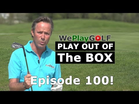 We Play Golf episode 100! PLAY OUT OF THE BOX